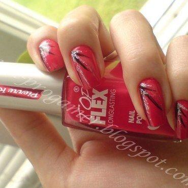 Coral nail art by MICUKI_kasia