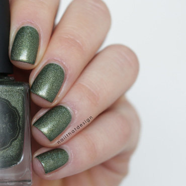 Il était un vernis we want you for NPA army Swatch by NailThatDesign
