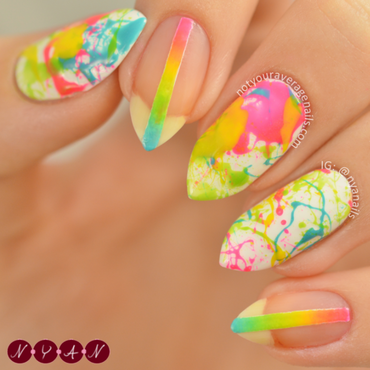 Make Me Colourful nail art by Becca (nyanails)