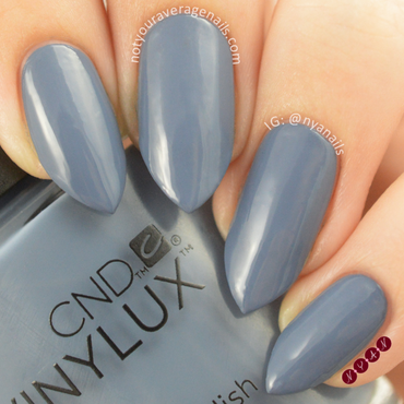 CND Denim Patch Swatch by Becca (nyanails)