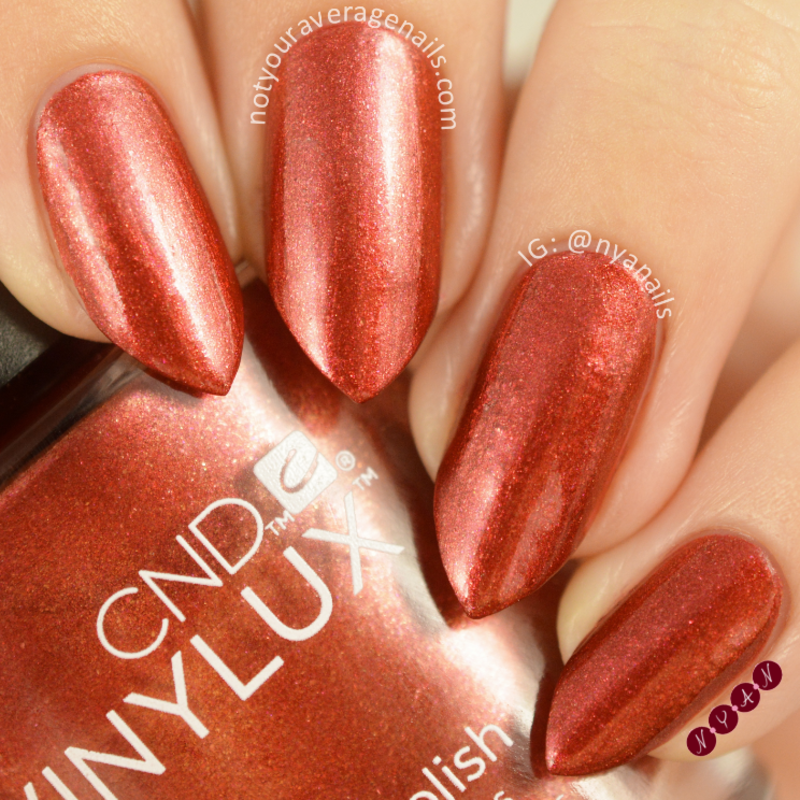 CND Hand Fired Swatch by Becca (nyanails)