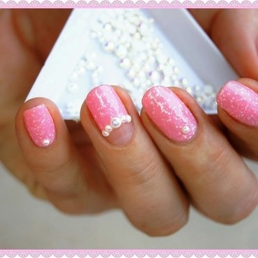Candy pearls nail art by ELIZA OK-W