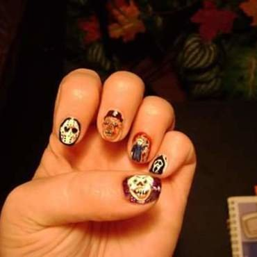 Killer nails nail art by Teana Jones