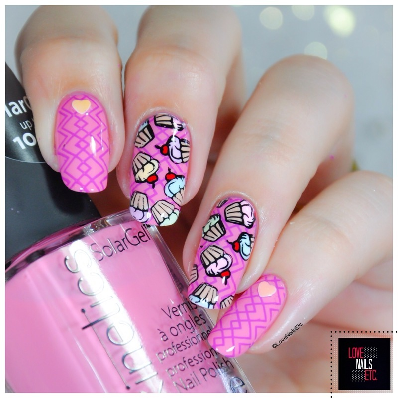 Cupcake nail art by Love Nails Etc - Cupcake Nail Art By Love Nails Etc - Nailpolis: Museum Of Nail Art