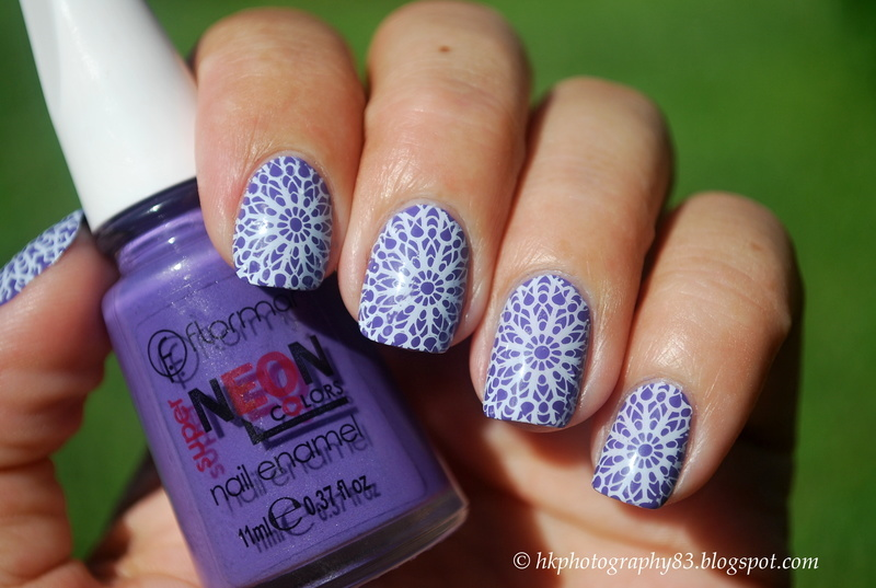 Lace nail art nail art by Hana K.