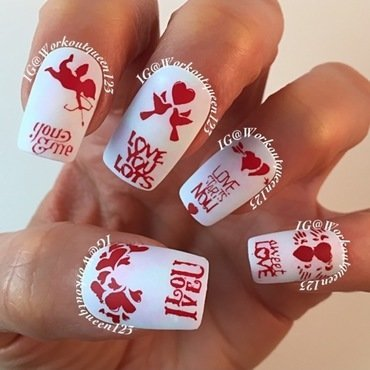 wedding season is here nail art by Workoutqueen123