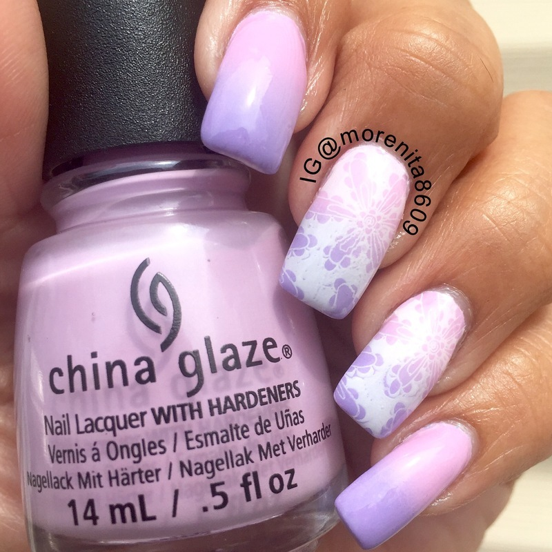 Pink & Lavender Nails more info on my Ig @morenita8609 nail art by ...