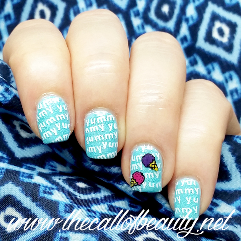 Ice Cream Nails nail art by The Call of Beauty