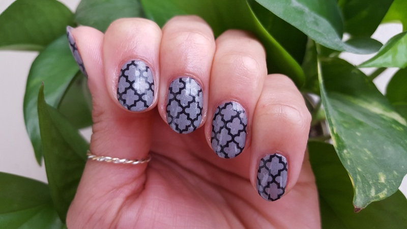 Stone Cold nail art by Alisha Worth