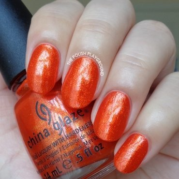 China Glaze Riveting Swatch by Lisa N