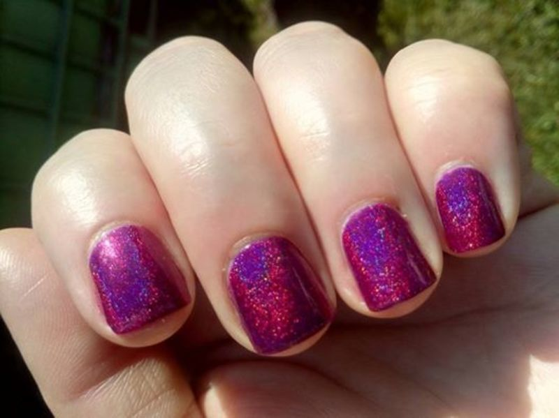 color by llarowe If you dare Swatch by Stephanie