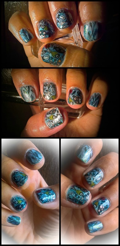 Sardinhada Manicure nail art by Avesur Europa