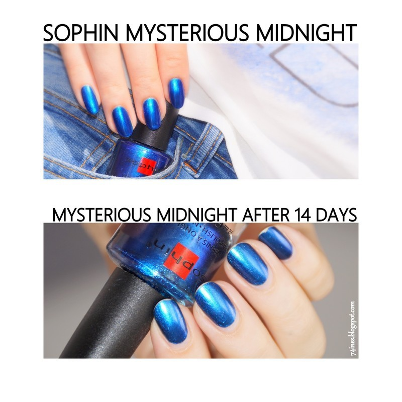 Sophin Mysterious Midnight Swatch by 74ines