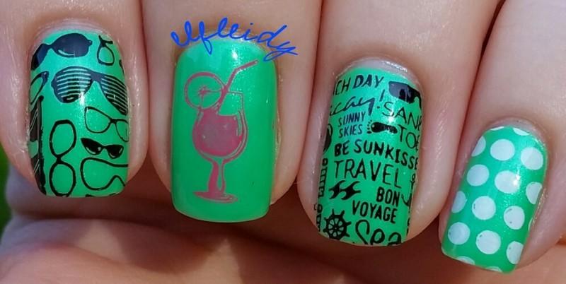 40 Great Nail Art Ideas 07-01-2016 nail art by Jenette Maitland-Tomblin