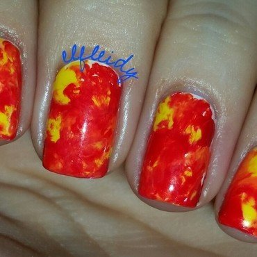 #smooshynailsunday 06-26-2016 nail art by Jenette Maitland-Tomblin