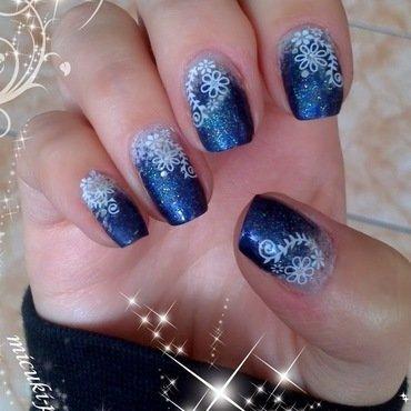 frost nail art by MICUKI_kasia