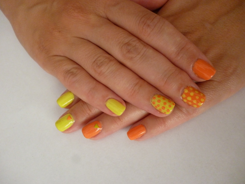 Sunny summer days nail art by velinux