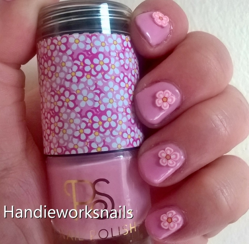 Summer Floral nail art by Sazjay
