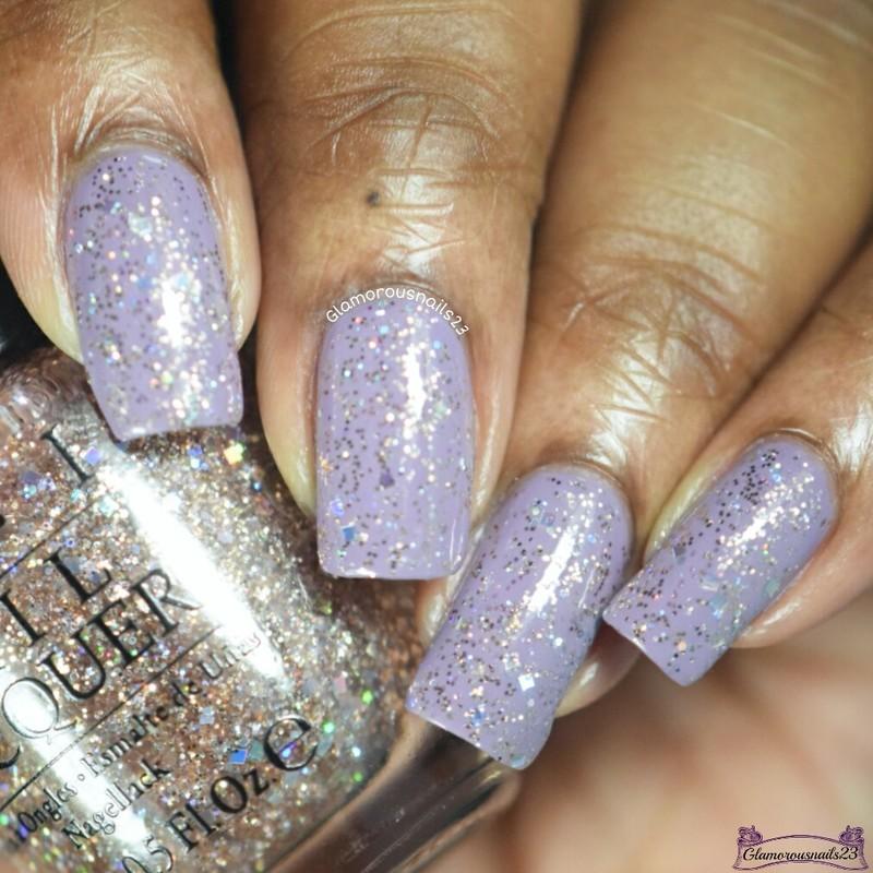 OPI Rose of Light Swatch by glamorousnails23