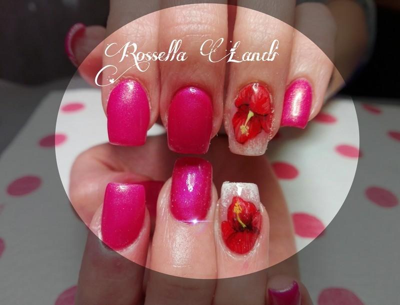 Micropittura nail art by Rossella Landi