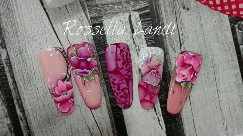 Micropittura ♡ nail art by Rossella Landi