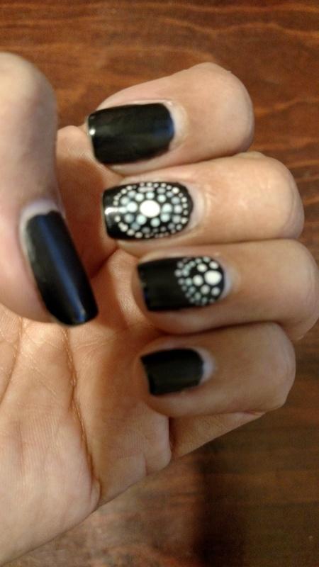 Bo Ho Dots nail art by Rubby  Jarnagin