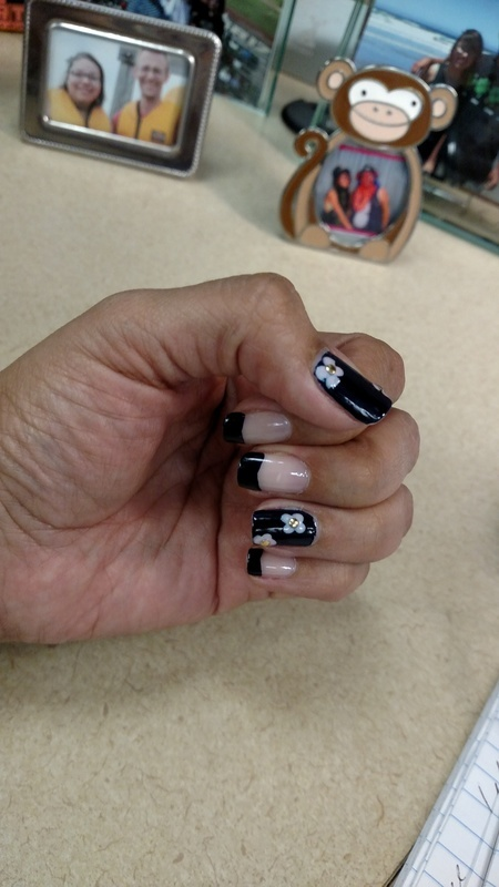 Mother's day present  nail art by Rubby  Jarnagin