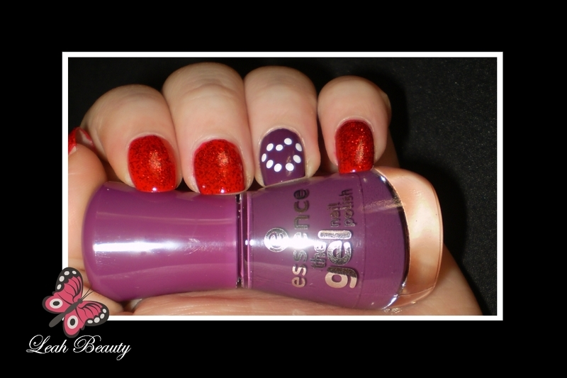 My Valentines  nail art by Leanie Foot