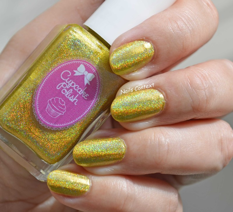 Cupcakepolish Don't worry be happy Swatch by NailsContext
