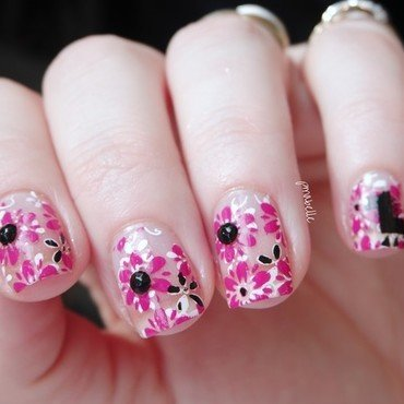 spring nail art by Pmabelle