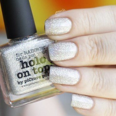 piCture pOlish Holo on top Swatch by Pmabelle