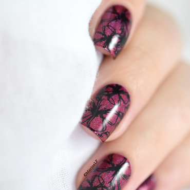 Born pretty holo 25 flowers stamping nailart 20 5  thumb370f