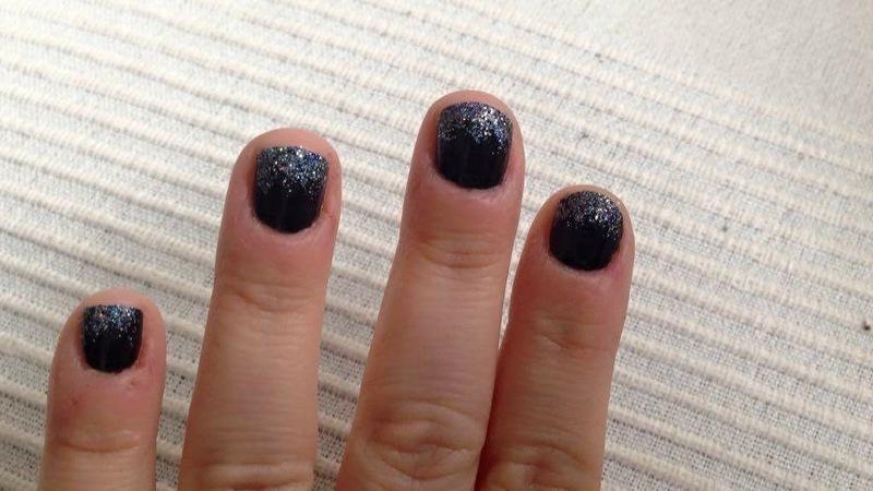 New Year's in New York nail art by Rezingona