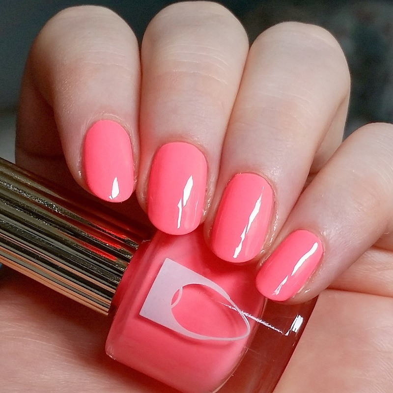Flossgloss International Hot Girl Swatch by nailicious_1