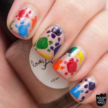Sandy Turtles nail art by Marisa  Cavanaugh