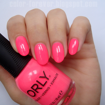 Orly Put the top down Swatch by ania