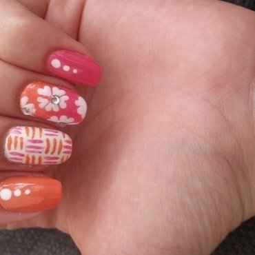 fun nail art by Maya Harran