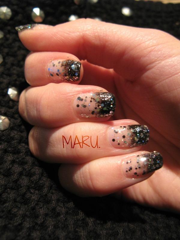 Disco Disco nail art by Martina