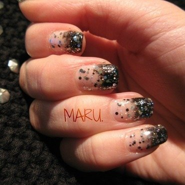 Disco Disco nail art by Martina