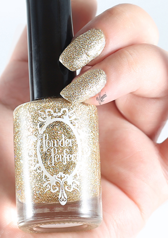 Powder Perfect Abydos Swatch by Nanneri