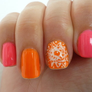 Summer life 2 nail art by velinux