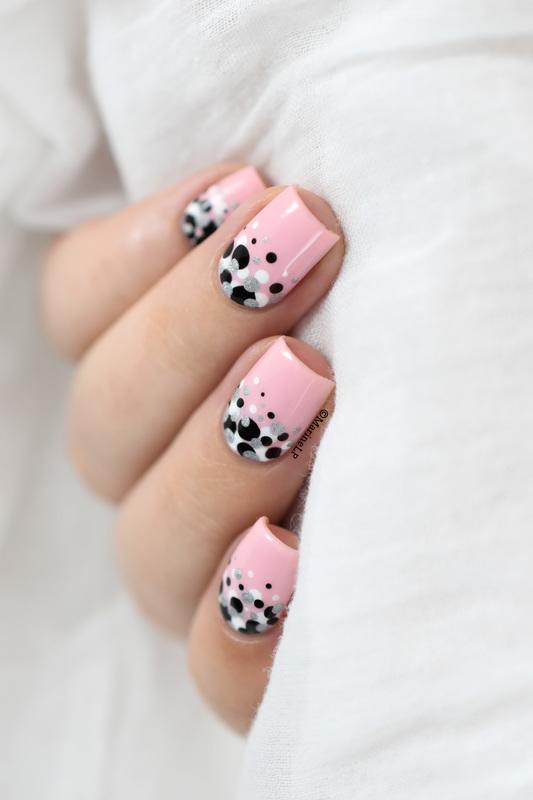 Confetti nails!  nail art by Marine Loves Polish