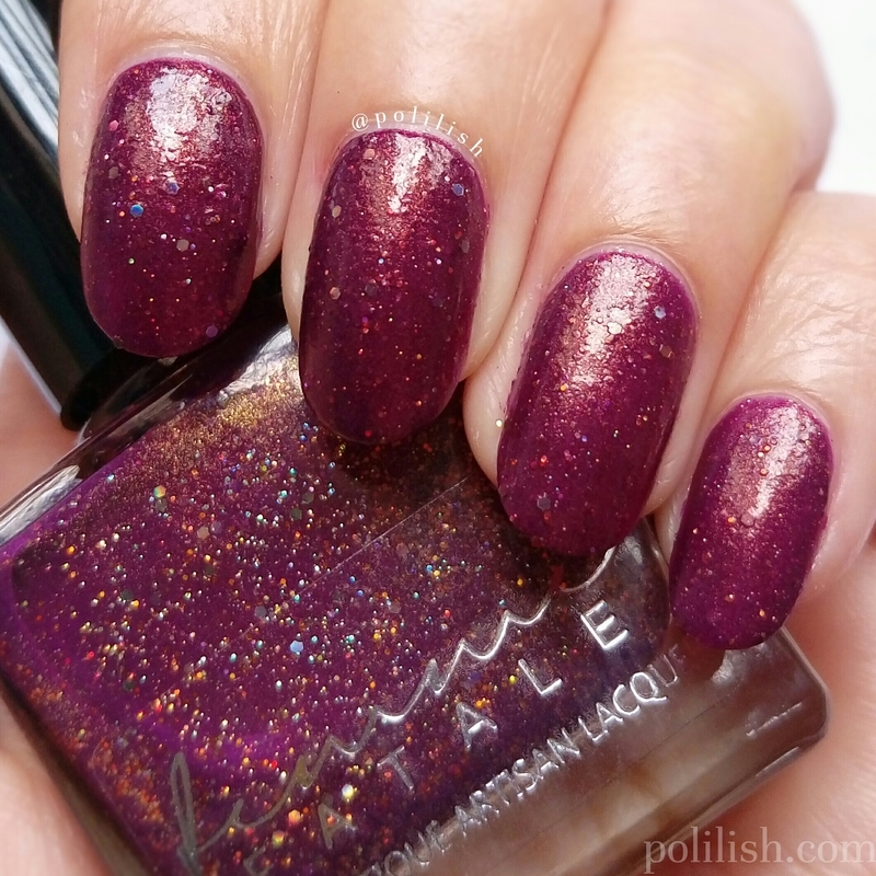 Femme Fatale Cosmetics Prim and Copper Swatch by polilish