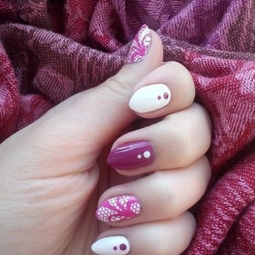 #11 nail art by Lyanna