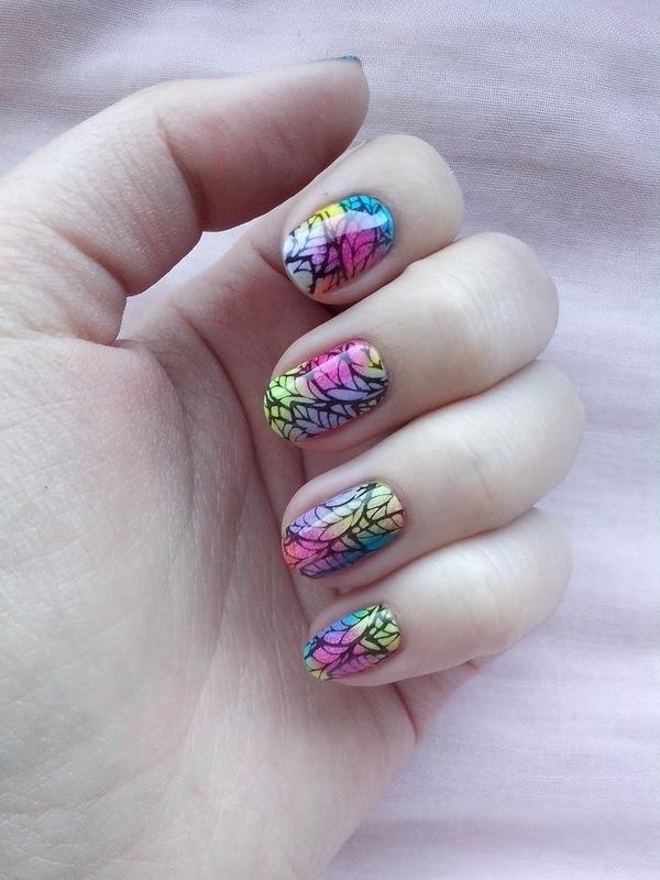 #12 nail art by Lyanna
