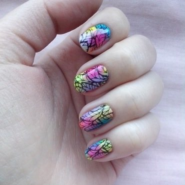 #12 nail art by Lyanna