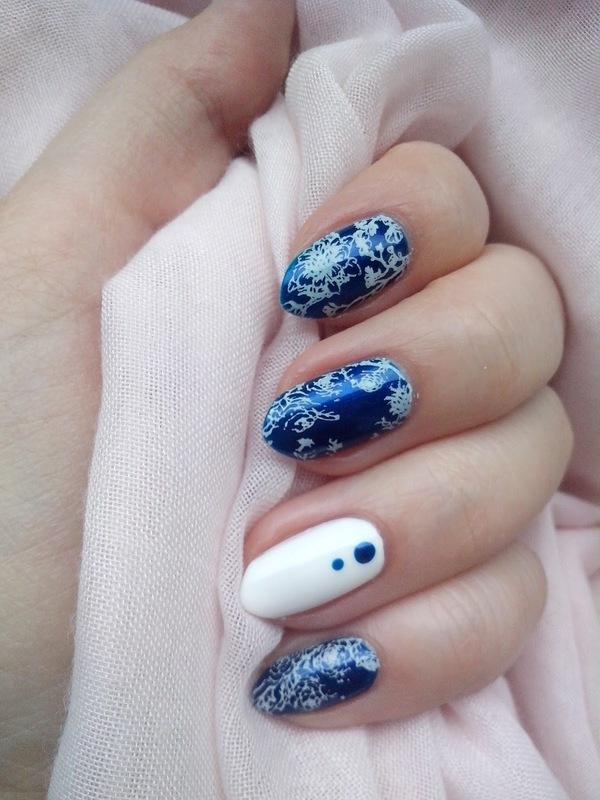 #14 nail art by Lyanna