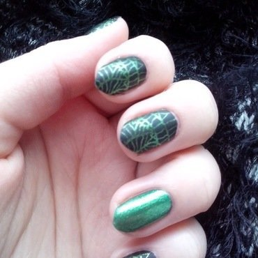 #15 nail art by Lyanna