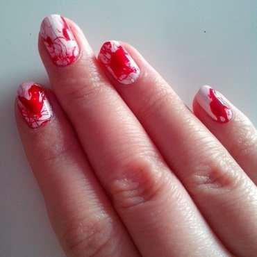 #19 nail art by Lyanna