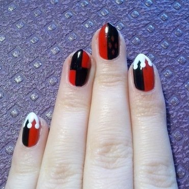 #20 nail art by Lyanna